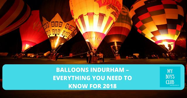 durham hot air balloon festival