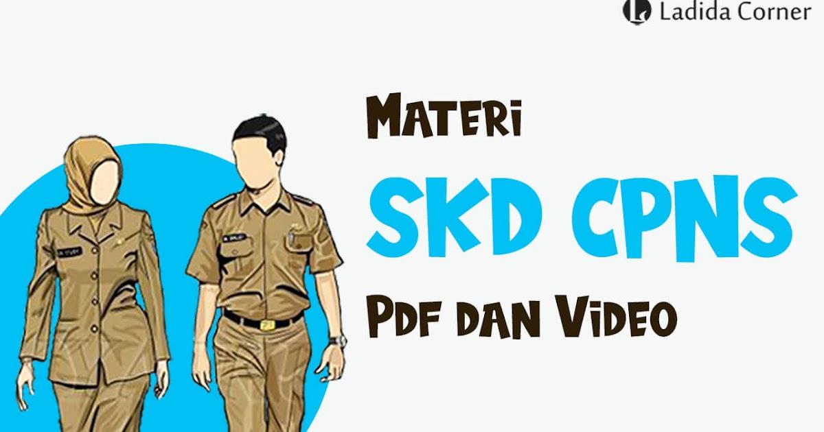 Download Materi TIU SKD CPNS 2020/2021 Pdf dan Video