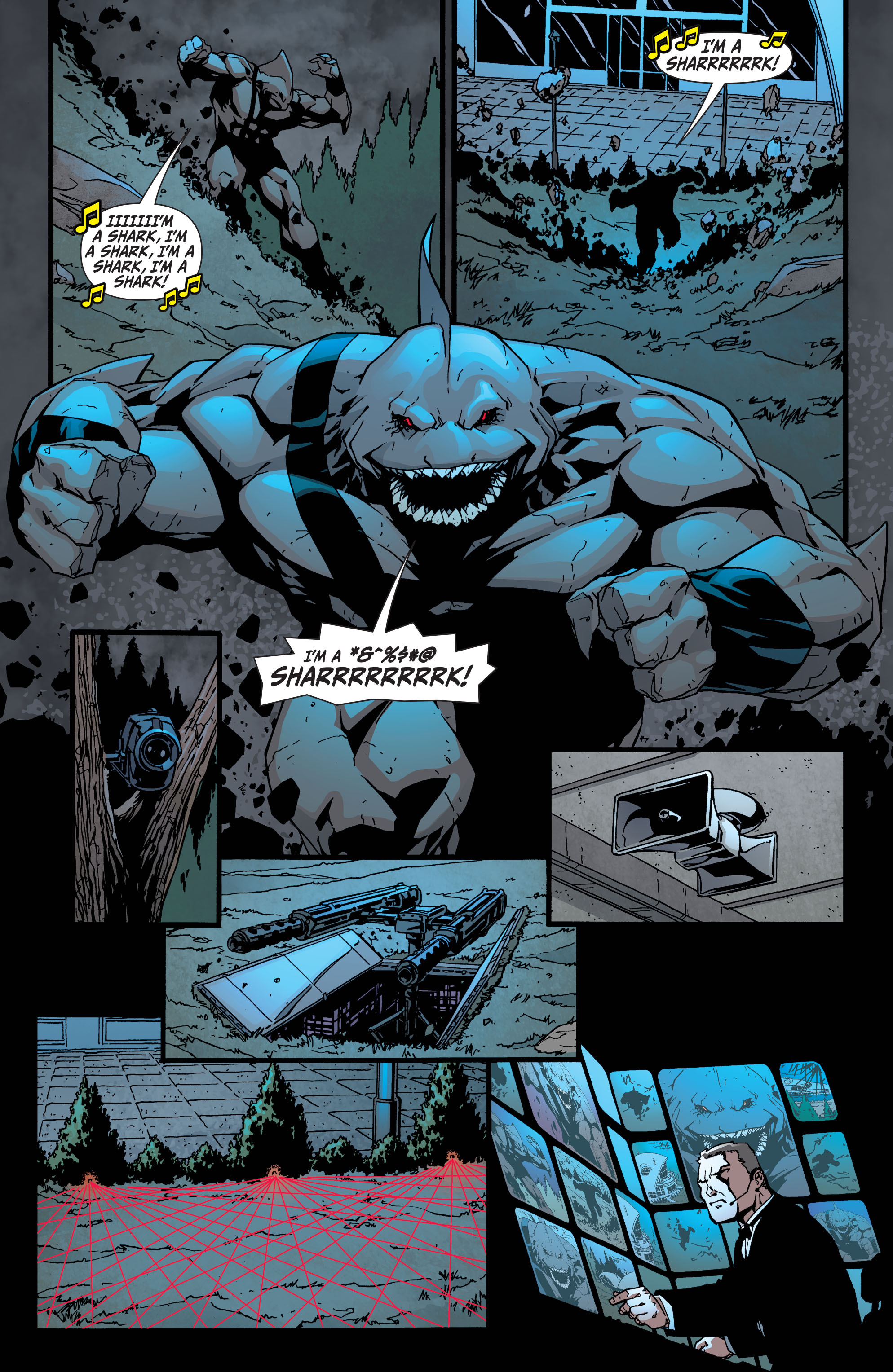Read online Secret Six (2008) comic -  Issue #35 - 13