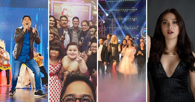 Wowowin, Eat Bulaga, It's Showtime and Wildflower.