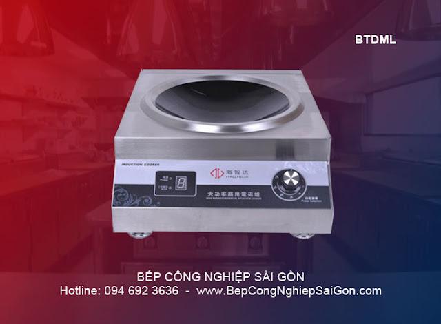 Bếp điện từ công nghiệp đơn mặt lõm BTDML