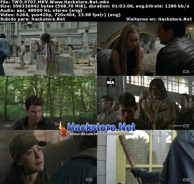 "Capturas de The Walking Dead 7×07 ""Sing Me a Song"""