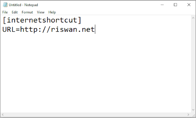 Cara Membuat Shortcut URL Website di Desktop