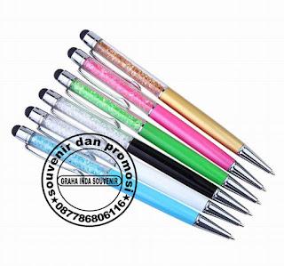 pulpen crystal, pulpen stylus, pulpen laser, pulpen senter, pulpen promosi, pulpen cabe, pulpen boss gell, pulpen angsa, pulpen hotel, pulpen natal, pulpen gepeng