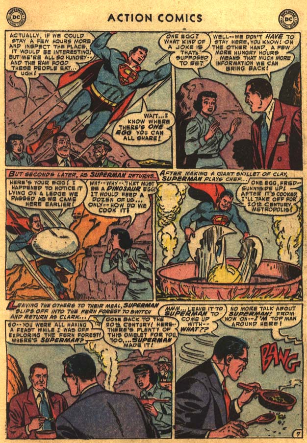Read online Action Comics (1938) comic -  Issue #201 - 9