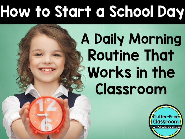 Daily classroom morning routines will get the day off to a great start for teachers and students. This article will give you ideas for a classroom morning routine that will enable the teacher to greet students, take attendance, get lunch count, log homework, check notes from home and make dismissal changes while the students are engaged in a meaningful task.