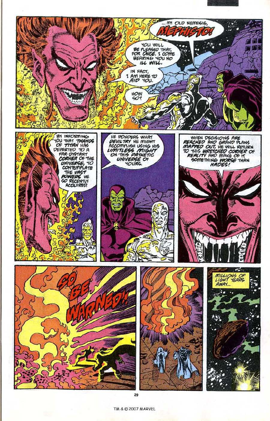 Read online Silver Surfer (1987) comic -  Issue #47 - 31
