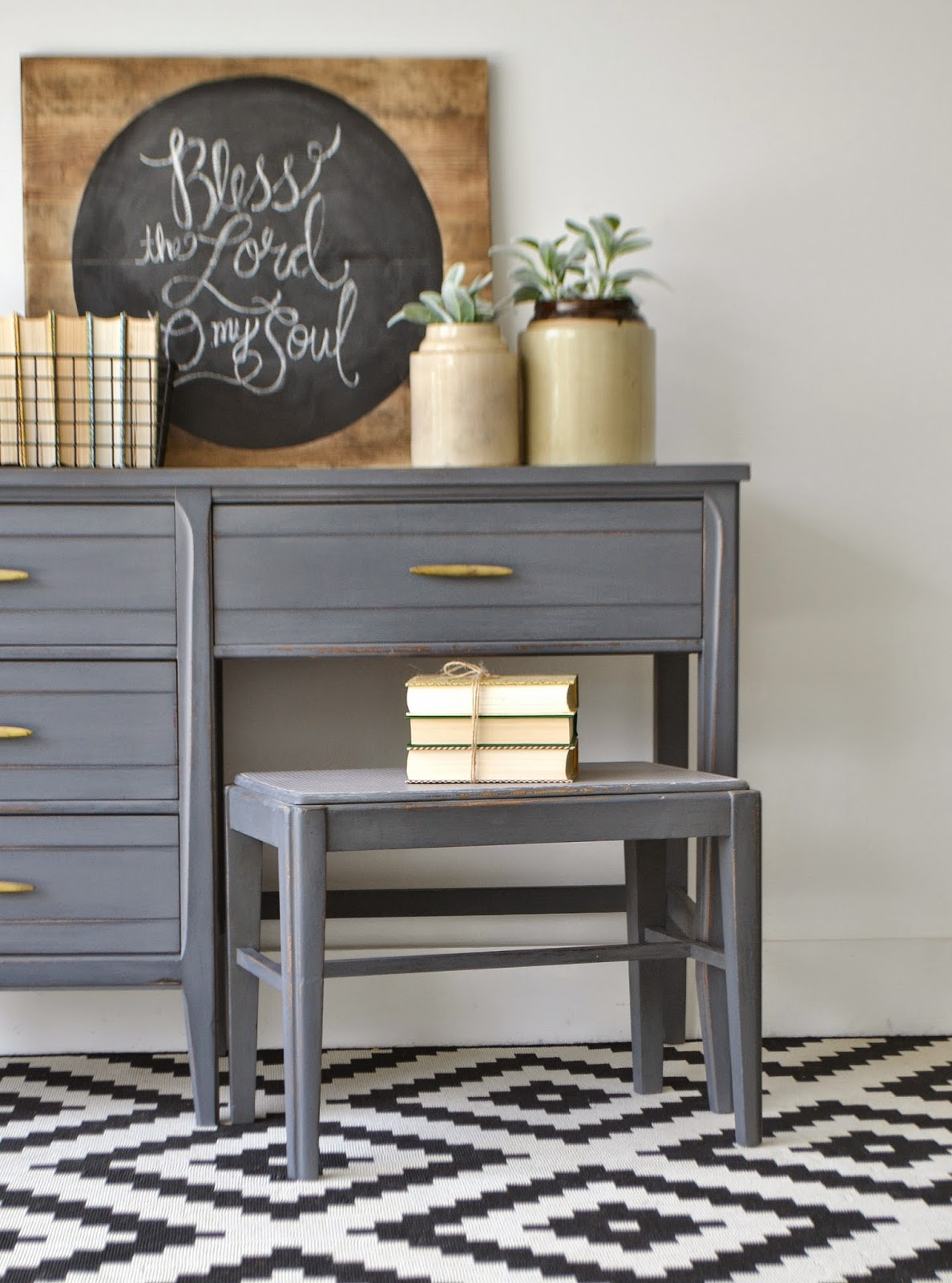 Funky Junk Painting Furniture With Deco Art Chalky Finish