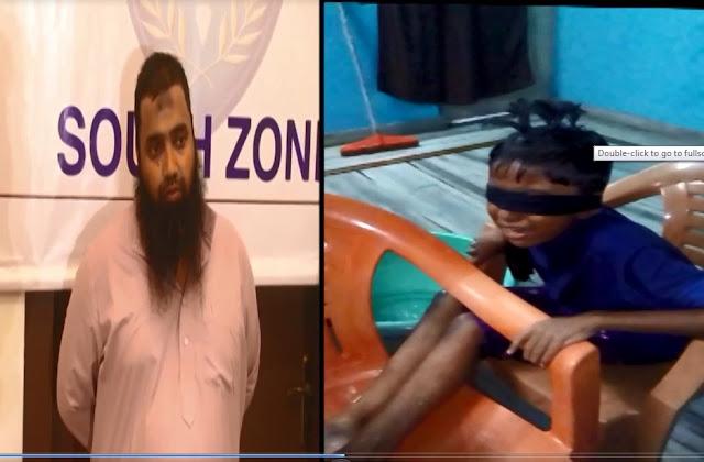 حیدر آباد :ناجائز تعلقات کے افشاء سے خوفزدہ بیٹے پرظلم کرنے والی بد چلن خاتون اوراس کا عاشق جادوگر گرفتار