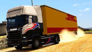 Waberer's DHL trailer skin