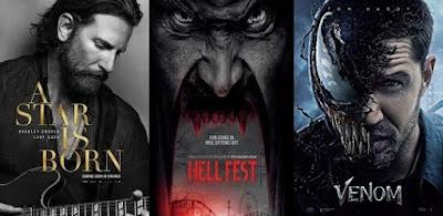 10 Film Barat Terlaris Oktober 2018