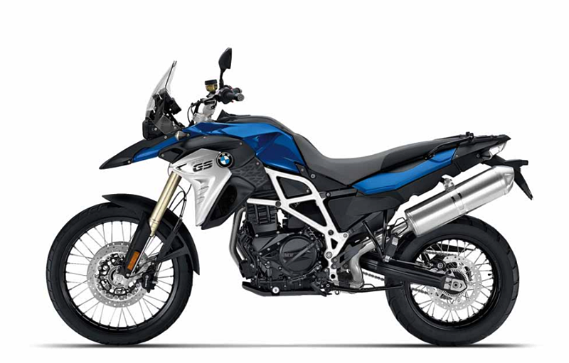 2018 BMW F800GS Changes