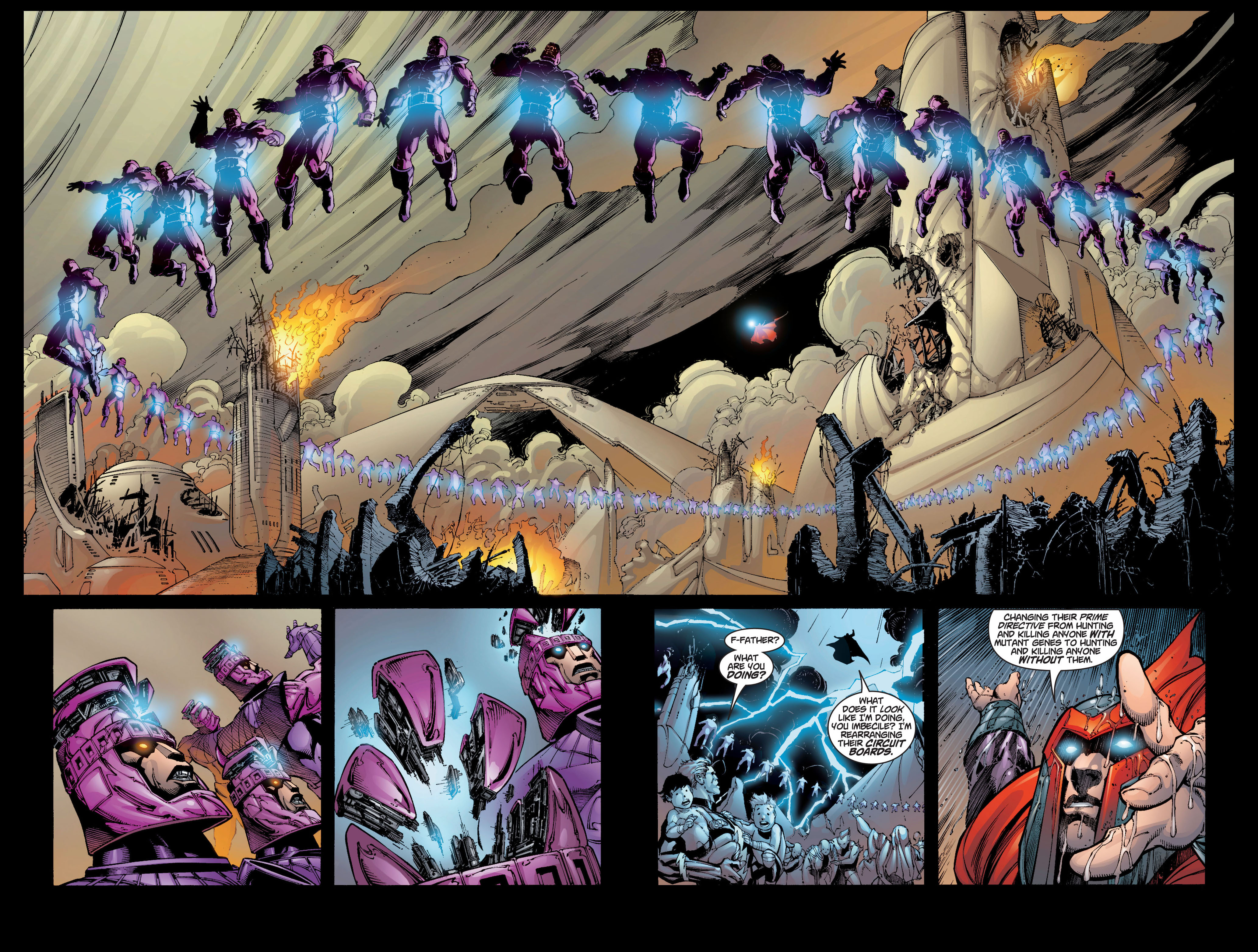 Read online Ultimate X-Men comic -  Issue #5 - 19