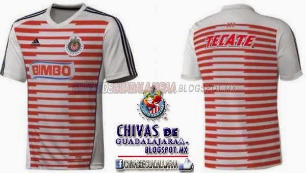 Circula en redes posible playera de Chivas  95ffa7cca1614