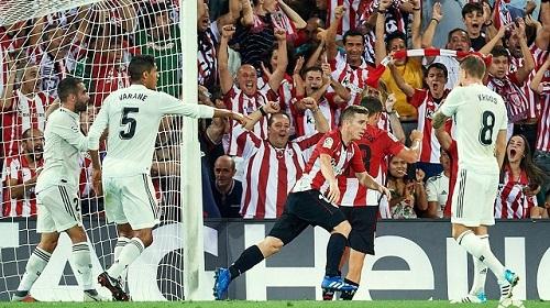 Iker Muniain đã mở tỷ số ở phút 32