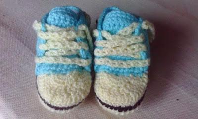 patron escarpines zapatillas 3