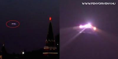 UFO Moszkva felett