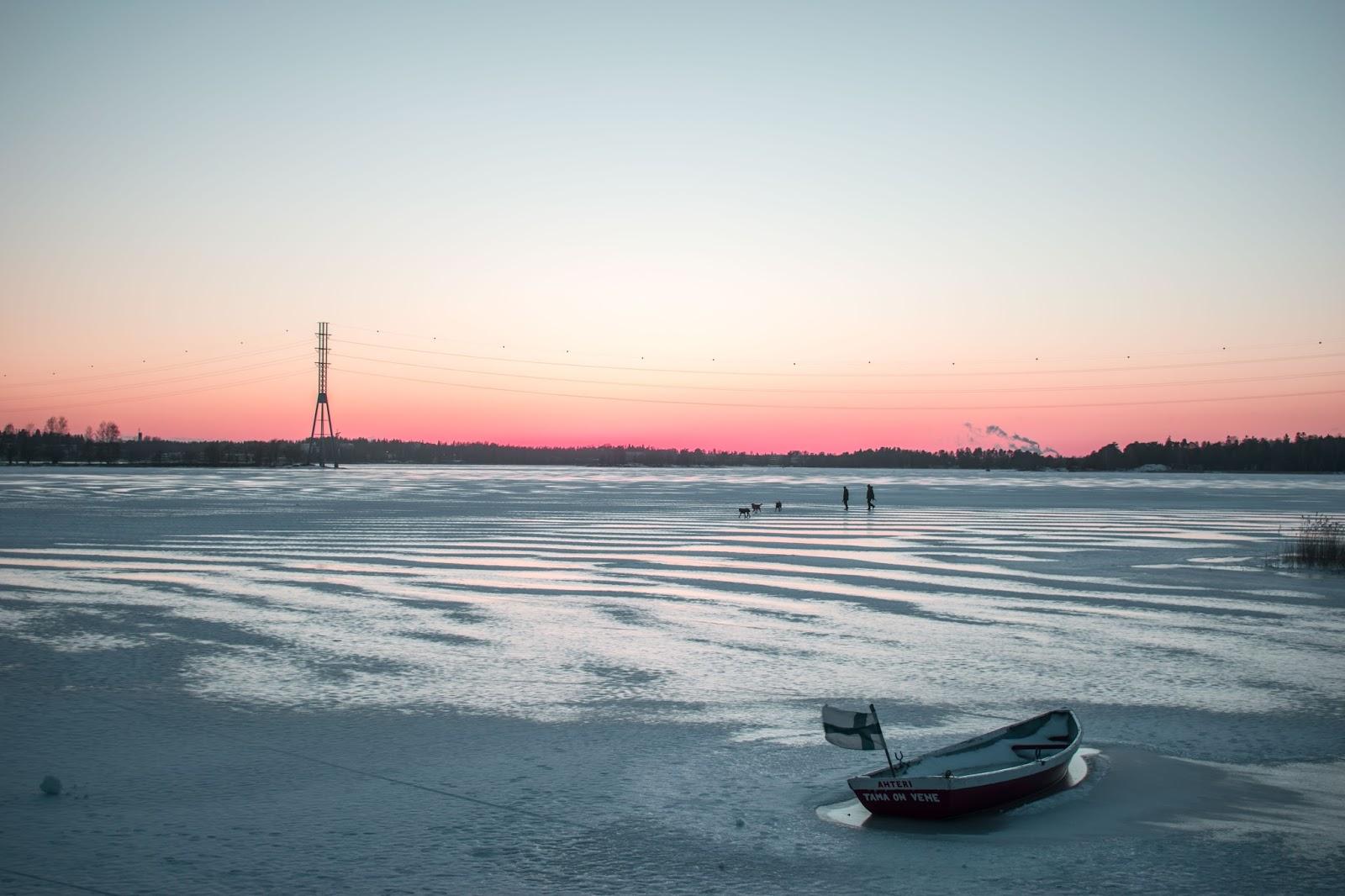 froid gel hiver Finlande