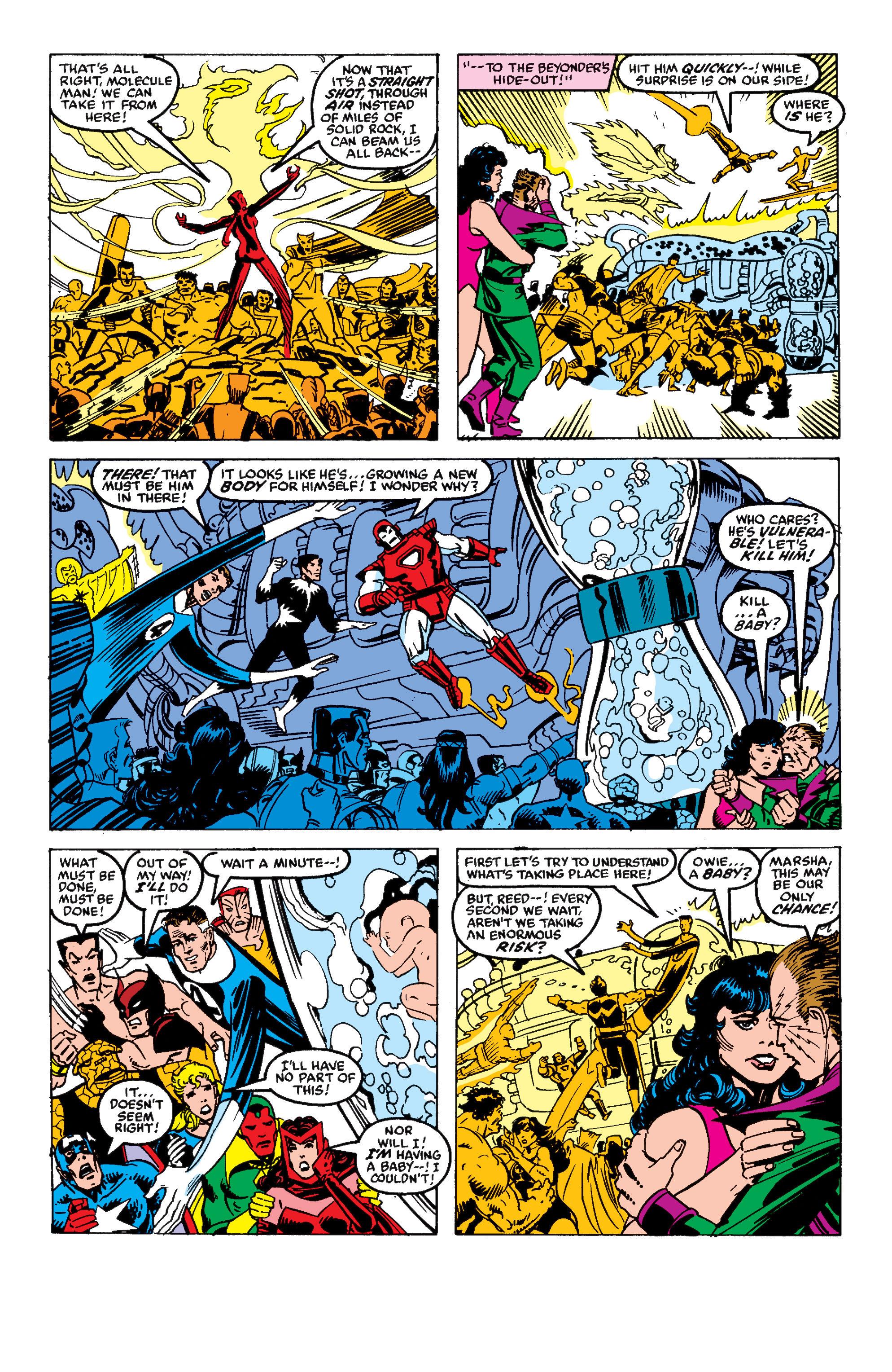 Read online Secret Wars II comic -  Issue #9 - 34