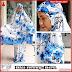 PSMT130A Mukena Bali Nazirah Biru lukis Murah BMG