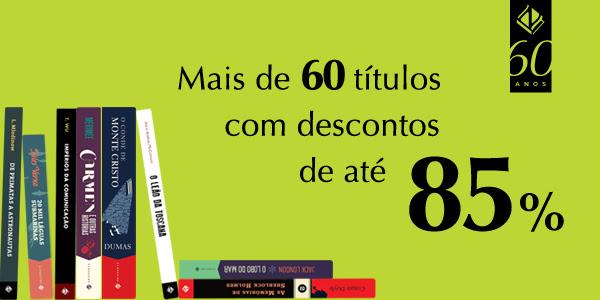 Promoção 60 anos da Editora Zahar: mais de 60 livros com desconto