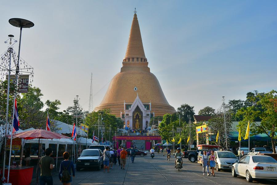 Nakhon Pathom, Phra Pathom Chedi