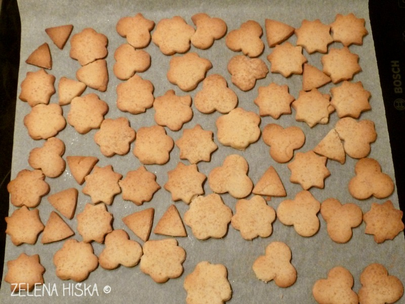 enostavni pečeni piškoti