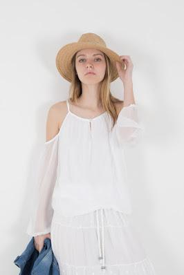 Camisa sin hombros Florencia
