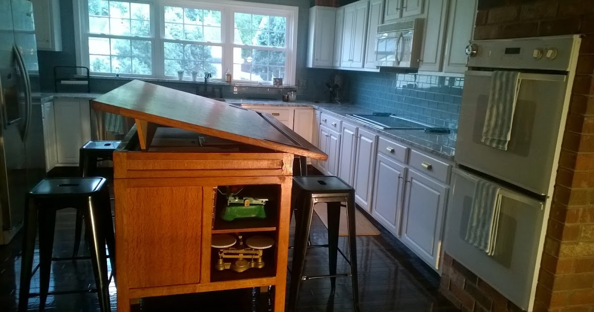 Cool and Unique Kitchen Islands