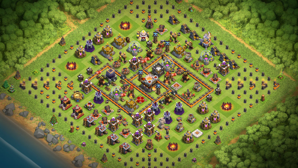 Clash of Clans Halloween Theme - House of Clashers - Tips and ...