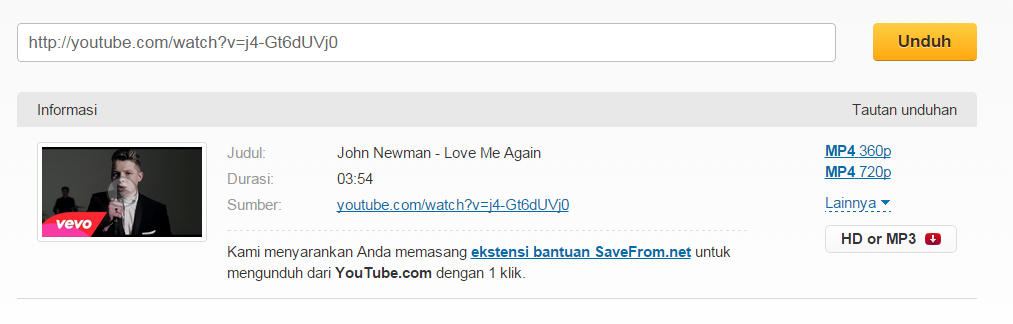 cara download video di youtube terbaru