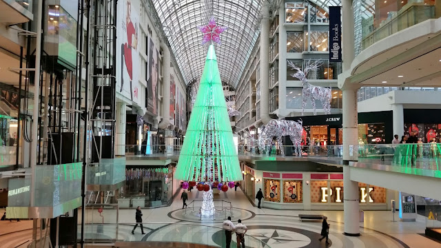 Eaton Centre Toronto Christmas tree