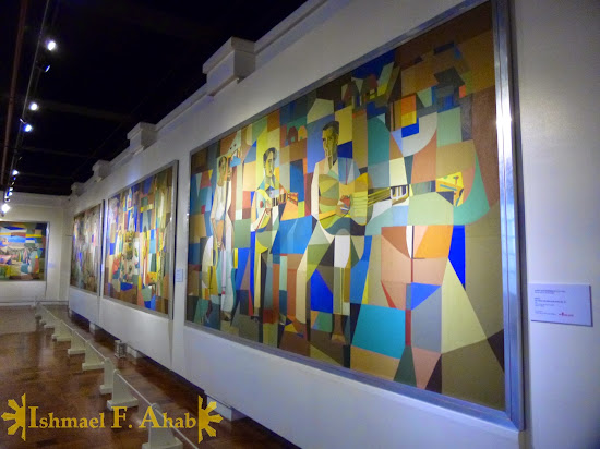 PhilAm paintings in the Philippine National Museum