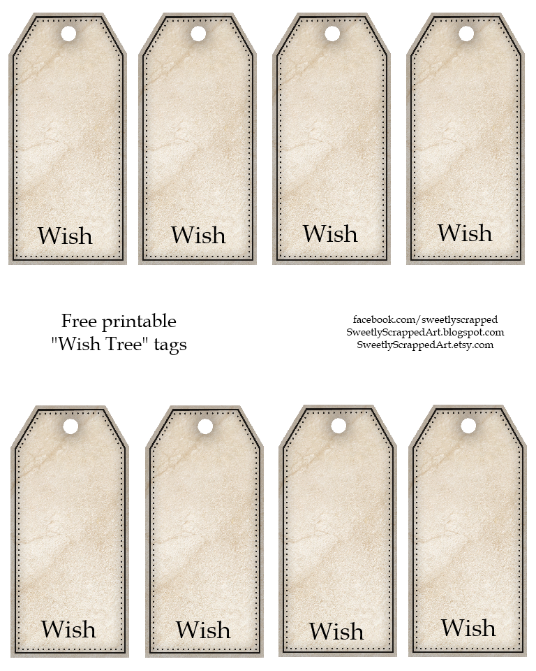 wishes for baby printable template - sweetly scrapped free printable tags 3 different sets