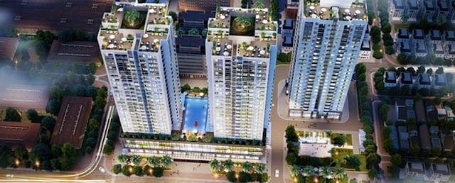 Phối cảnh chung cư Rivera Park Hà Nội