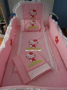 Set de cuna hello kitty