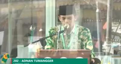 Download Mp3 Tilawah Adnan Tumangger (MTQ Nasional XXVII Medan)