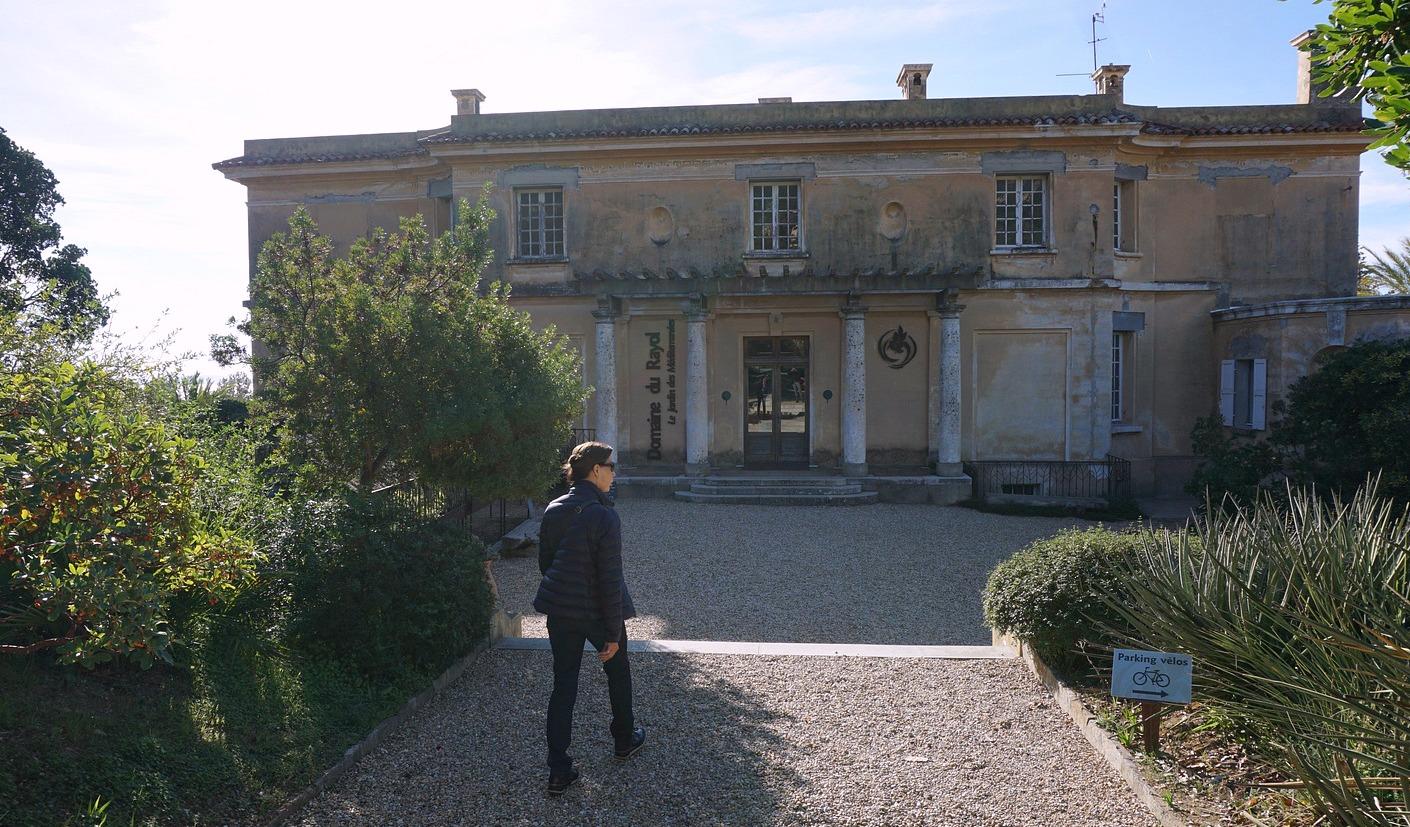 Entering Domaine du Rayol Gardens