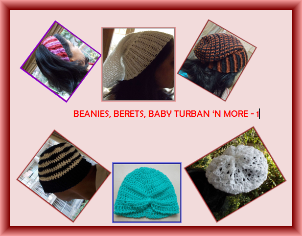 free crochet headwear patterns