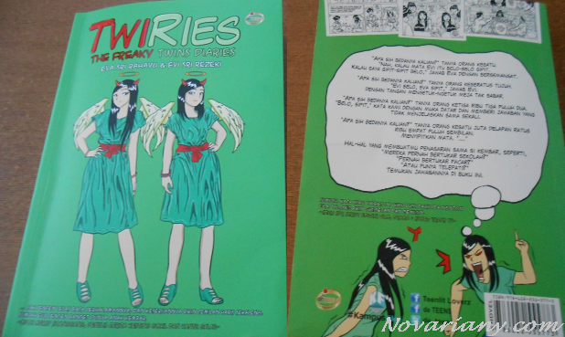 Twiries book cover