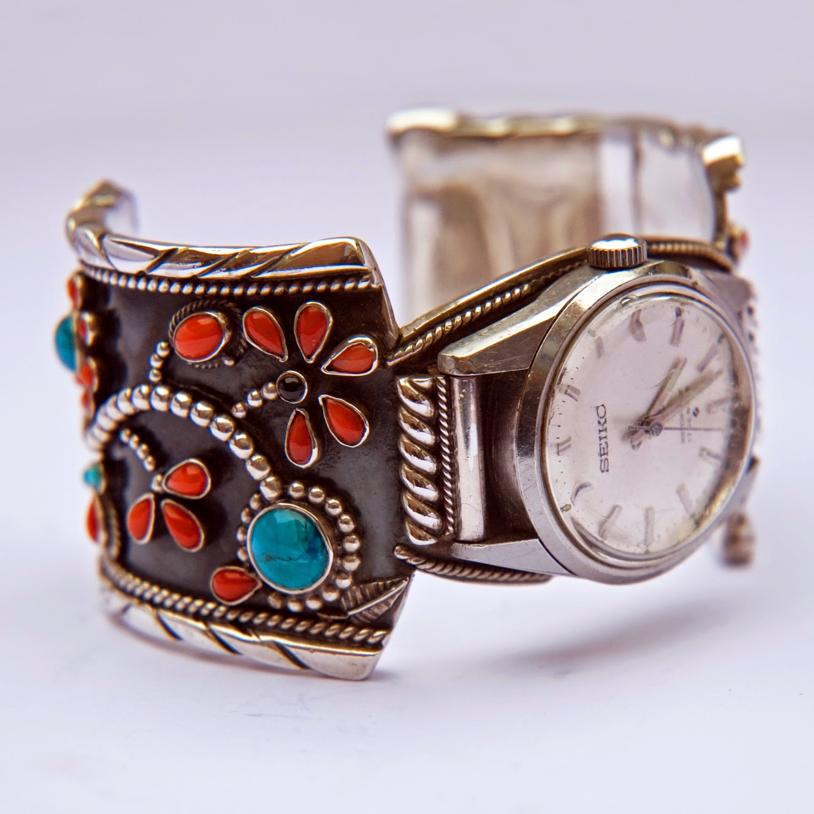 Native American wristwatch band