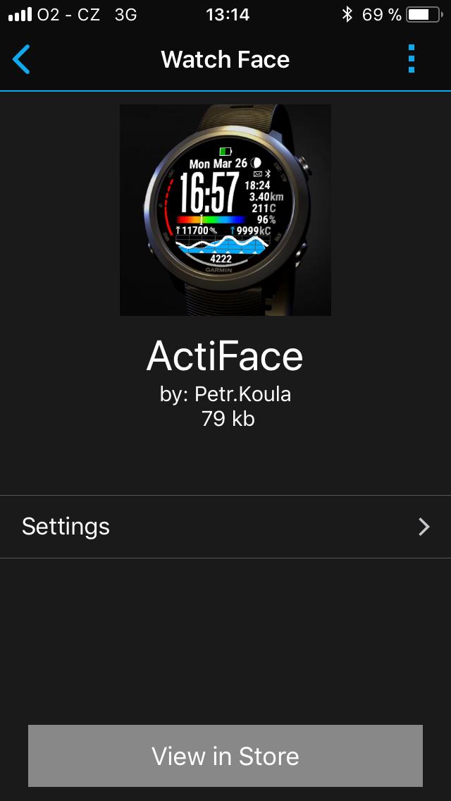 ActiFace Online Documentation