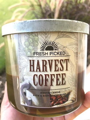 Bath and Body Works 'Harvest Coffee' 3 Wick Candle - www.modenmakeup.com