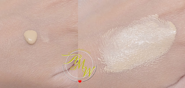 a swatch photo of Kate The Base Zero Powdery Skin Maker Foundation Review by Nikki Tiu of www.askmewhats.com