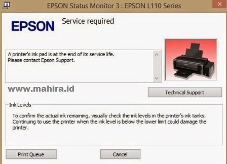 Download Epson L110, L210, L300, L350, L355 Resetter Tool