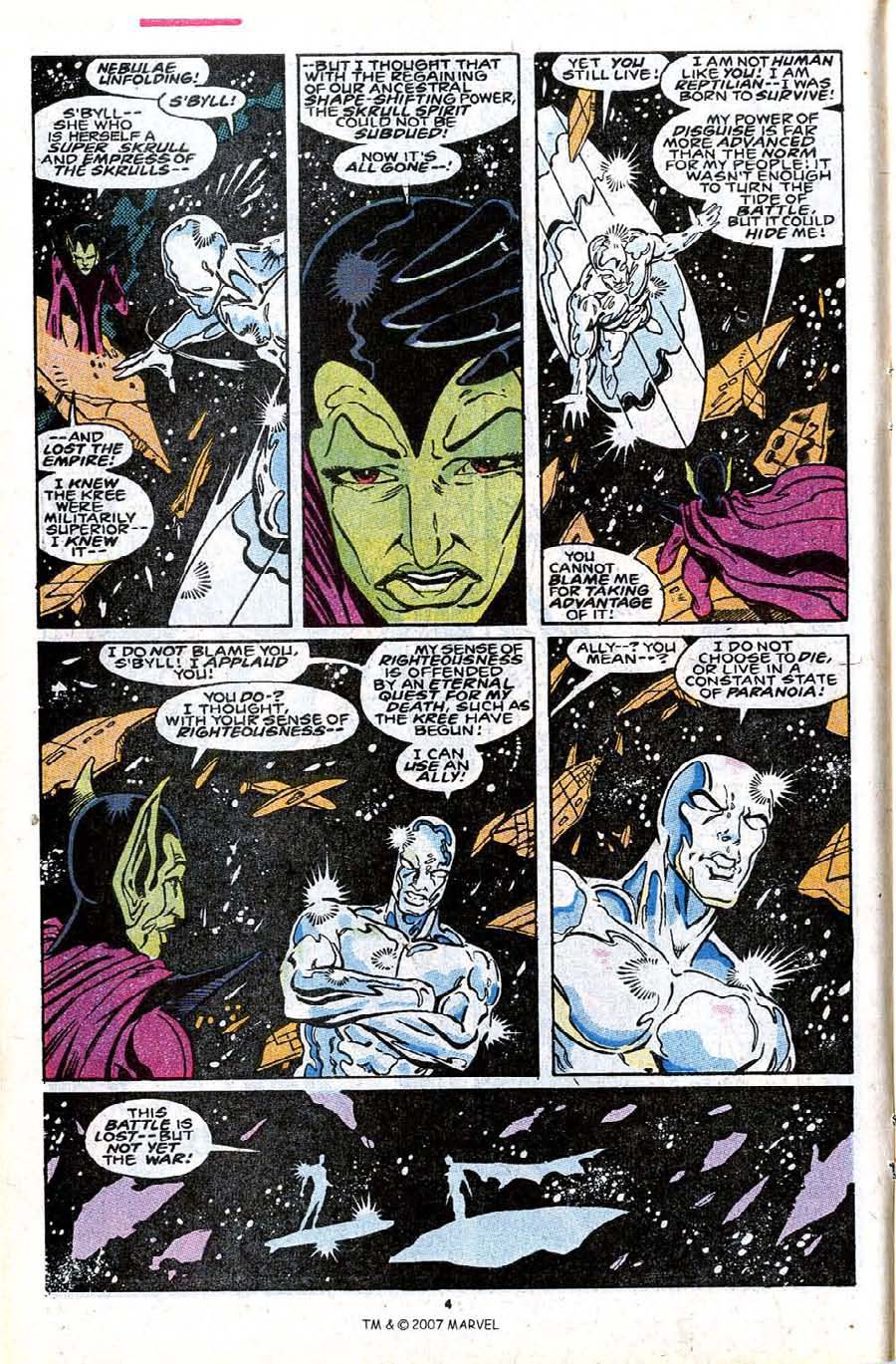Read online Silver Surfer (1987) comic -  Issue #30 - 6