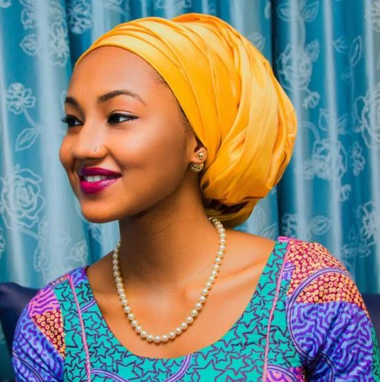 Image result for Twitter User Calls Out Zahra Buhari For Wearing A £360(N200k) Dior Earrings. (Photos)