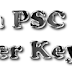 LOWER DIVISION CLERK / MALE WARDEN EXAM ANSWER KEY 01-08-2015