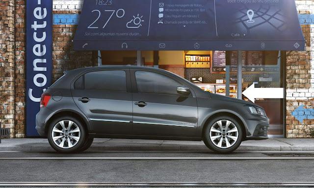 Novo VW Gol 2017 - interior