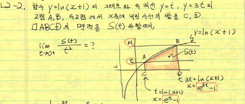 수능 '수학' 공부: 미적분II #11(1)지수,로그 함수 미분/레벨-2